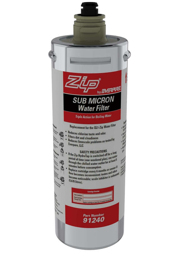 ZIP Genuine 91240 Sub-Micron Triple Action Water Filter