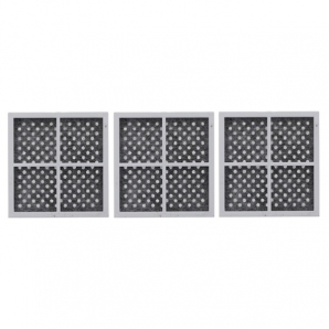 3x ADQ73214404 / LT120F LG Air Purifying Fresh Air Filter