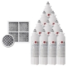 LG LT800P(5pack)  + Fridge Air Filter LT120F SET