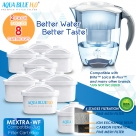 8 x Brita Maxtra Compatible Water Filter Jug Cartridge Four Pack