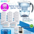 20 x Brita Maxtra Compatible Water Filter Jug Cartridges