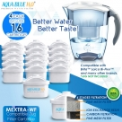 16 x Brita Maxtra Compatible Water Filter Jug Cartridge Four Pack