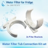 "1x DA29-10105J / WSF-100 Samsung Water Filter COMPATIBLE plus Tube Hose (5m 1/4"") kit SET"