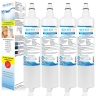 4x LG 5231JA2006A/LT600P Fridge Water Filters by Aqua Blue H20