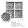 5X LG replacement filter  ADQ36006101 with 5X  Air filter ADQ73214404 Generic