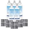 LG Water Filter Replacement LT700P + Air Filter LT120F Generic
