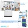 3x AQUA BLUE H20 DW2042FR-09-WF DAEWOO SMEG WESTINGHOUSE Compatible Replacement Fridge Filter Cartridge