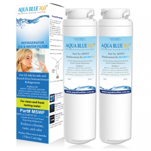 2x GE Fridge Water Filter Compatible MSWF