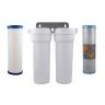 CeraMetix Ceramic Superblock Twin Under Sink Water Filter System