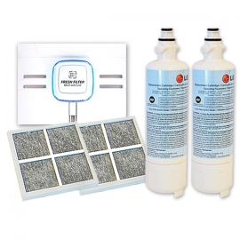 2x LG Genuine Fridge filter LT700P and 2x LG LT120F Air filter