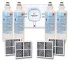 4x LG LT700P( ADQ36006101) with 4x LG LT120F(ADQ73214404) Air filter
