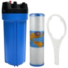 Whole House Water System with Omnipure Carbon Block Filter OMB934 0.5 Mic
