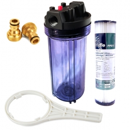 Caravan Water Filter System with Puretec PP011 Sediment Pleated