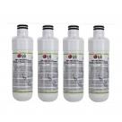 4x LG LT1000P MDJ64844601 ADQ74793501 refrigerator water filter