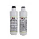 2x LG LT1000P MDJ64844601 ADQ74793501 refrigerator water filter