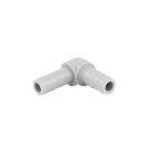 "TUBE ELBOW BARB - 3/8""stem x 1/4""barb ORIGINAL DM FITTING"