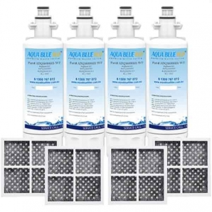 4X LG replacement filter  ADQ36006101 with 4X  Air filter ADQ73214404 Generic