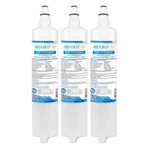 3x LG 5231JA2006A/LT600P Fridge Water Filters by Aqua Blue H20