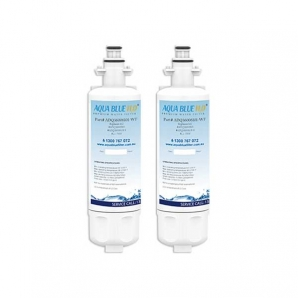 2x LG LT700P / ADQ36006101 Fridge Water Filters by Aqua Blue H20