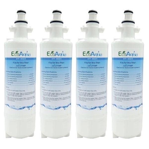 4x LG Generic Replacement Fridge Water Filter LT700P ADQ36006101