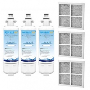3X LG replacement filter  ADQ36006101 with 3X  Air filter ADQ73214404 Generic