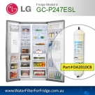 LG EXTERNAL FRIDGE FILTER FOR GC-L197NIS FILTER  BL9808/5231JA2012A