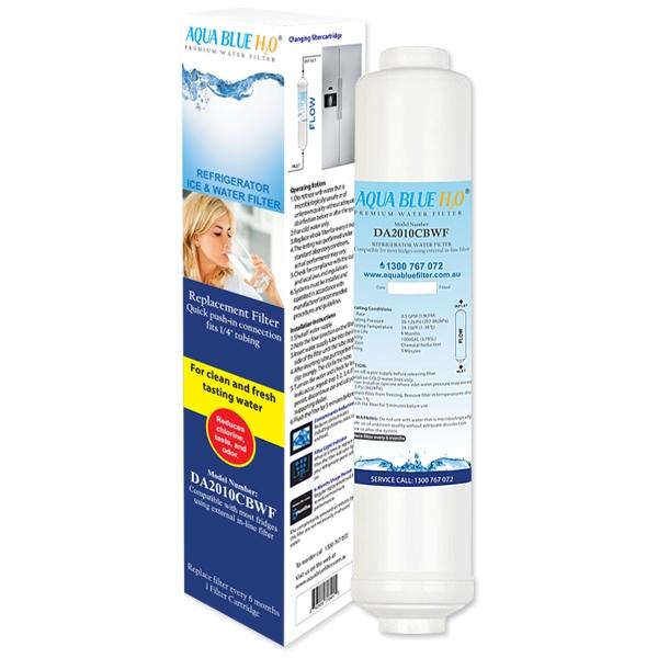 Samsung External Compatible Water Filter AQUA BLUE H20  DA2010CB-WF