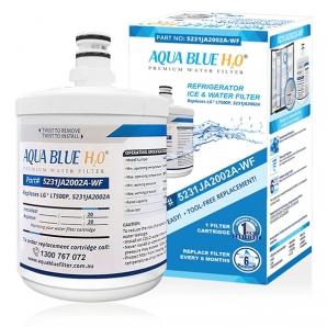LG 5231JA2002A, LT500P Premium filter Aqua Blue H2O Replacement