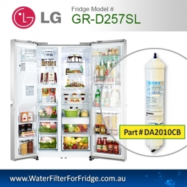 LG External Fridge Filter for GR-D257SL Filter BL9808/5231JA2012A