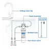 Aqua Blue H20  ABHIFLOW  Inline High Flow Water Filter System