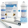 Aqua Blue H20 ABHIFLOW Inline High Flow Water Filter System
