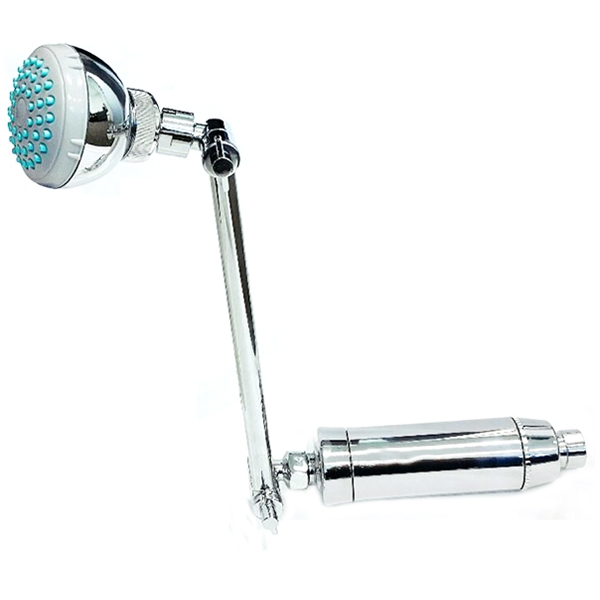 High Performance Shower Filter with Replaceable 2 Stage KDF/CAG Filter