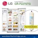 LG EXTERNAL FRIDGE FILTER FOR GR-P197NIS FILTER BL9808/5231JA2012A