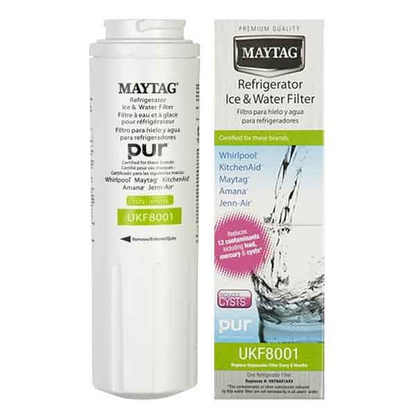 Whirlpool 4396395 UKF8001 Maytag Jenn-Air Amana Kitchen Aid Water Filter Genuine