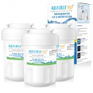 3x GE MWF MWFP SmartWater  Internal Fridge Water Filter by  Aqua  Blue H20