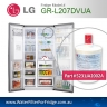 FRIDGE  MODEL GR-L207DTUA  REPLACEMENT  FILTER Genuine  Premium,5231JA2002A, Cuno 3M