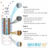 Aqua Blue H20 AB812WF Water filter fits InSinkErator F701R 3M AP3-765S Hot Water Tap