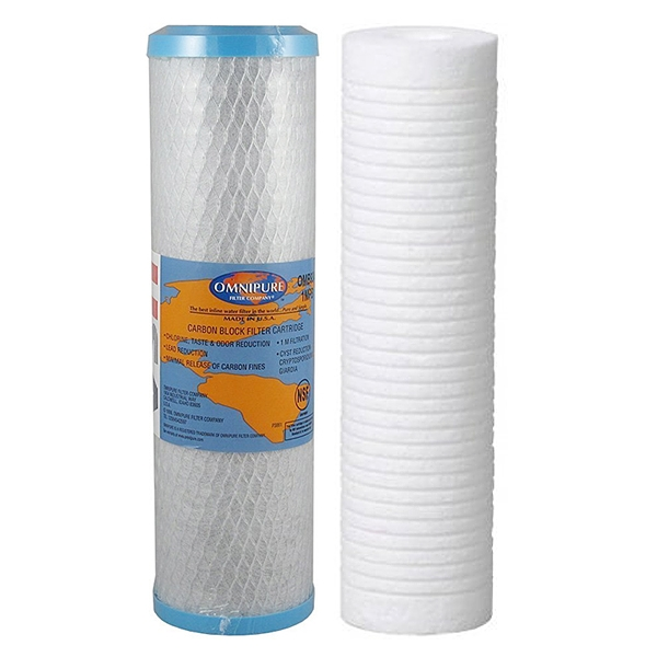 Aqua-Pure AP2200C Replacement Filter Set 1um AP110 AP187 10""