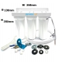 3 stage Undersink water complete filter system All in one DIY Set