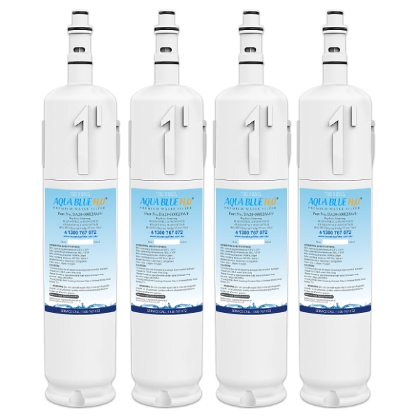 4x Samsung Compatible DA29-00012A / B Fridge Water Filter