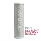 Puretec MC051 Moulded Carbon Water Filter Cartridge 2.5 x 10 inch 5 Micron