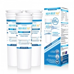 3x Fisher and  Paykel  836848 Fridge Filter  by Aqua  Blue H20 836848WF
