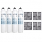 4x LG Internal filter M7251242FR-06 Combo with Air Filter LT120F