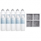 5x LG  Internal  filter  M7251242FR-06 Combo with Air Filter LT120F