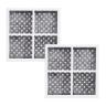 2x LG  Internal  filter  M7251242FR-06 with 2x Air Filters LT120F