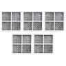 5x LG  Internal  filter  M7251242FR-06 with 5x Air Filters LT120F