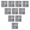 10x LG  Internal  filter  M7251242FR-06 with 10x Air Filters LT120F