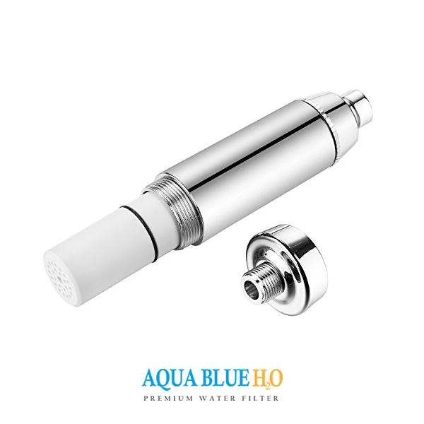 3 Function Premium Shower filter + hose and header wall bracket set