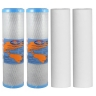 """Omnipure Carbon Block Filter OMB934 1 Mic with Sediment Cartridge 2.5""""x10"""" 10 Mic"""
