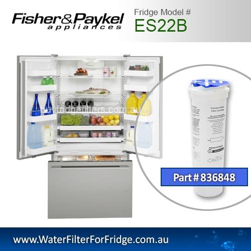 Fisher & Paykel 836848 for ES22B Genuine Fridge Water Filter